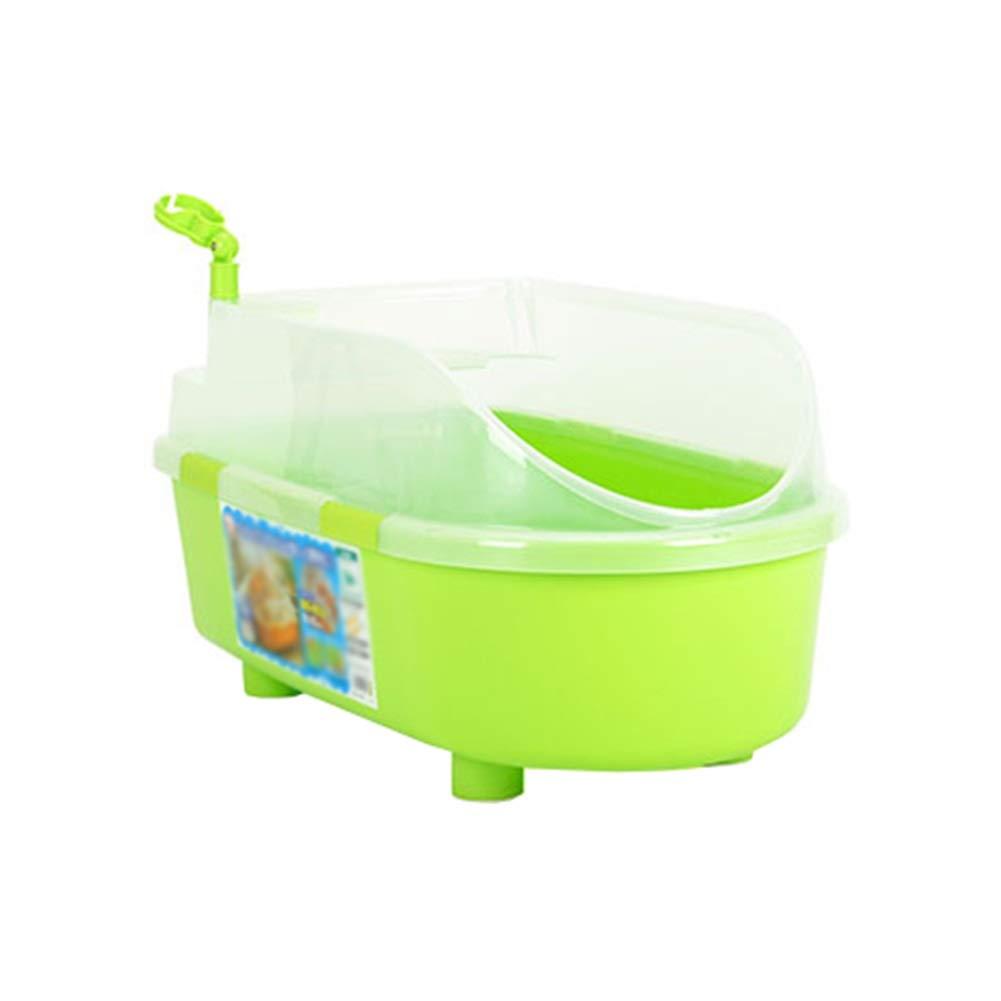 Green-2 Dog Bath Tub, Dog Bathing Green Plastic Basin Cat Bathtub Pet Medicine Bath Basin for Small and Medium Sized Dogs Swimming Pool Bathtub (color   Green-2)