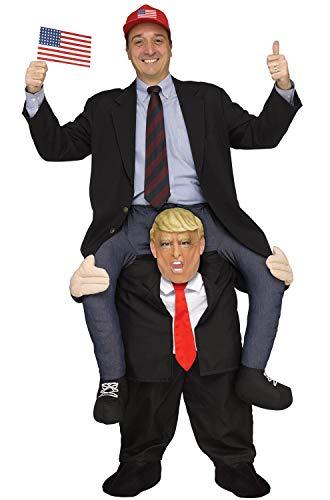 Fun World Men's Carry Me Mr. President, Multi, Standard -