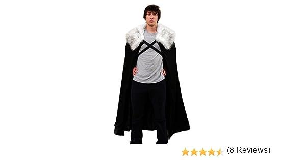 Halloween Capa para Disfraz de Lord Comandante de la Guardia de la ...