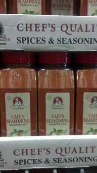 Chef's Quality: Cajun Seasoning 12/24 Oz. Case by Chef's Quality