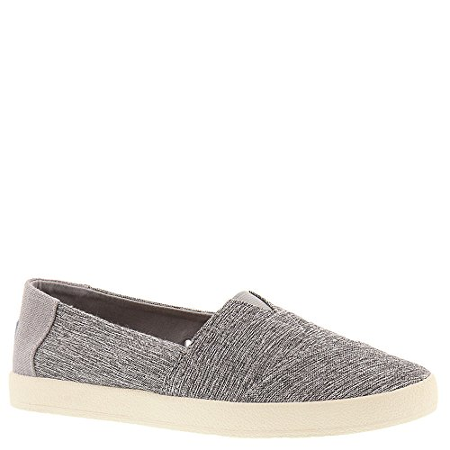TOMS Women's Avalon Slip-On Forged Iron Grey Space-Dye Loafer