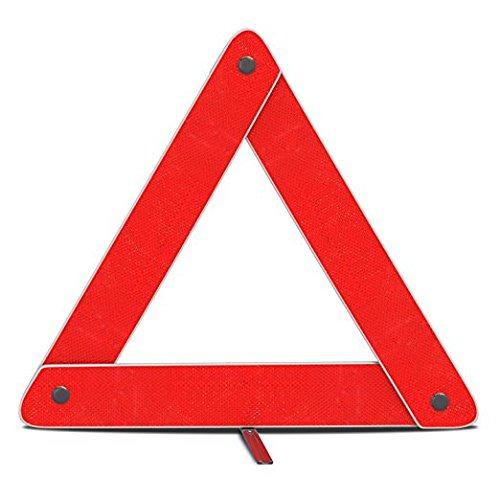 Amazon.es: Triángulo de advertencia Reflector, emergencia advertencia Triángulo plegable reflectante señal de seguridad carretera peligro símbolo w/seguro ...