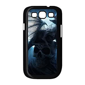 Skull Day of the Dead Hard Rubber Phone Cover Case For Samsung Galaxy S3 GHLR-T394713