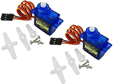 Easy Electronics Sg90 Servo Motors, Multi-color, Set of 2