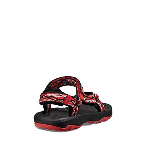 Pictures of Teva Boys' T Hurricane XLT 2 Sport 1019390T Delmar Black/Red 4