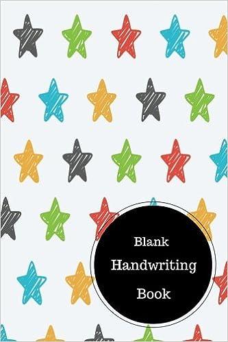 Blank Handwriting Book: Worksheet For Cursive Writing. Handy 6 in ...
