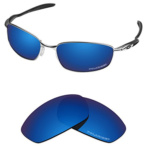 Tintart Performance Replacement Lenses for Oakley Blender Sunglass Polarized Etched-Sapphire Blue by Tintart