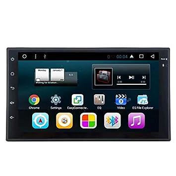 TOPNAVI Android 7.1 Universal 7Inch 2Din Video del coche para Universal Auto Stereo Car Reproductor de