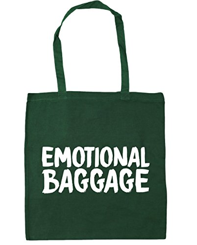 Bottle Green 10 Shopping Tote Baggage Emotional HippoWarehouse Bag 42cm Gym Beach litres x38cm qpPw7Wnxz