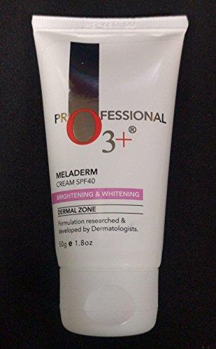 O3+ Dermal Zone Meladerm Brightening & Whitening Cream SPF 40,50G