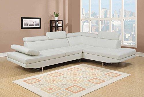 NHI Express Logan Sofa Set (1 Pack), White -