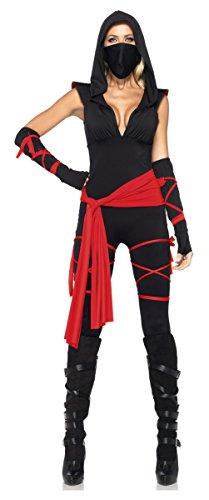 Deadly Ninja Costume - Medium - Dress Size (Deadly Ninja Sexy Costumes)