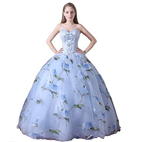 YUEZHIMENG Haute Couture Women's Wedding Lace Strapless Elegant Temperament Princess Wedding Dress Adult Dress Evening Dress,US2