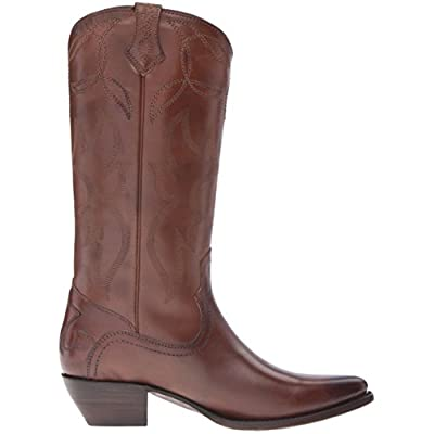 FRYE Women's Shane Embroidered Tall Western Boot: Shoes