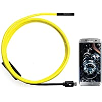 GiraffeCam 1.0 Soft ShortFocus | Endoscope Borescope Inspection Camera | Android PC Mac | 5.5mm Diameter | 6.5 Feet Advantages Review Image