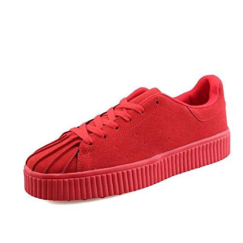 Uomo Moda con Sneaker Basse retr Casual Scarpe Stile Sportive Hv7qxq5wn