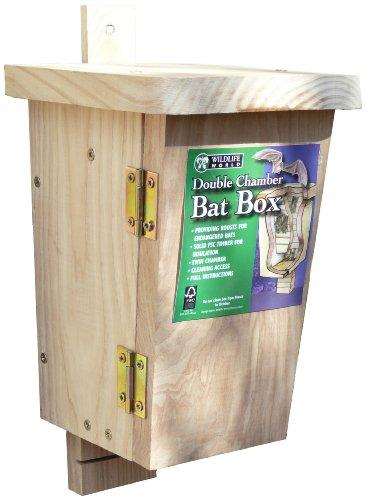 Wildlife World OBB Origineller Fledermauskasten - Doppelkammer