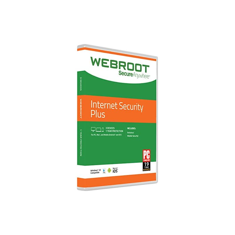 Webroot Internet Security Plus with Anti