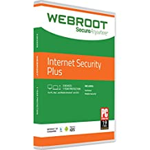 Webroot Internet Security Plus 2018 | 3 Devices |1 Year | Mac Download