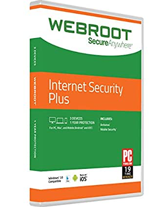 Amazon Com Webroot Internet Security Plus 2016 3