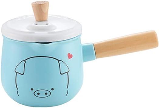 Cocina artesanal Bebé De La Cacerola De Leche De Cerámica Que Cocina El Hogar Del Pote De La Comida Del Suplemento, Conveniente Para La Estufa De Gas Suplemento de comida para bebés