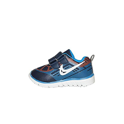 Deb&Dan Niker Runing Shoes Velcro 935-6 Marino