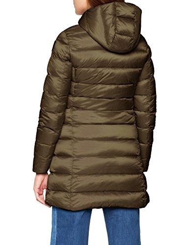 Lunghi Int 925vh Blauer Impermeabile Verde trench Lichene Femme Grigio Imbottito Coat grigio Piuma Asfalto EU6q1w6