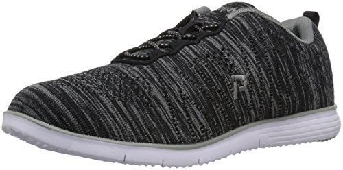 Women's TravelFit Grey Walking Black Propét Shoe BPxqwd6O