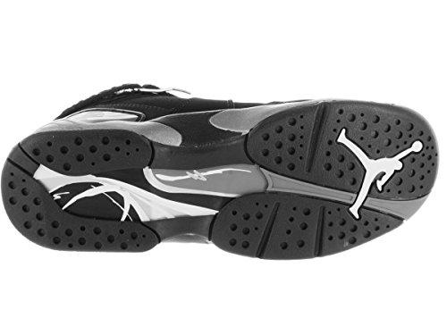 Nike Jordan Ungar Jordan Air Jordan 8 Retro Bg Basket Sko Svart, Vit-lt Grafit