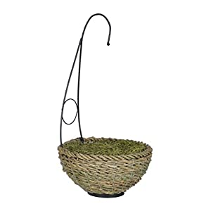 House of Silk Flowers Artificial Fern Hanging Basket 2