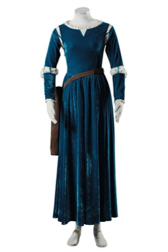 [DAZCOS US Size for Brave Princess Gown Merida Cosplay Dress and Quiver (Women Large)] (Comic Con Costumes For Females)