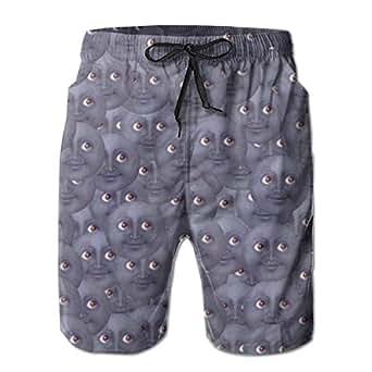 Amazon.com: Atsdes Moon Emoji Pattern Men's Pattern Swim