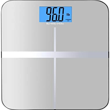 BalanceFrom C400SV High Accuracy Premium Digital Bathroom Scale with 3.6 /X-Large Backlight Display