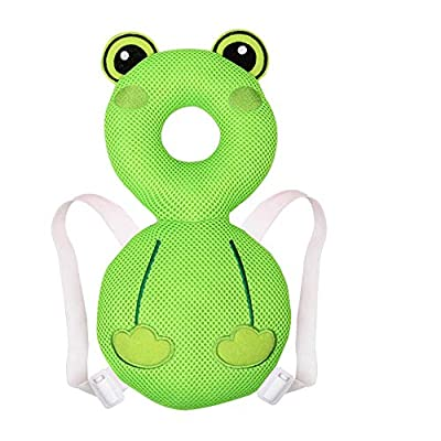 Baby Head Protector Baby Toddlers Head Safety Pad Infant Safety Pads Walkers Protective Head Back Protection Prevent Injured Suitable Age 8-36 Months