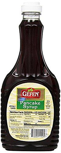 Gefen Premium Pancake Syrup 24 Oz. Pack Of 3.