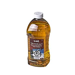 Pack of 6 Citronella Insect Repellent Torch Oil Bottles 64 oz