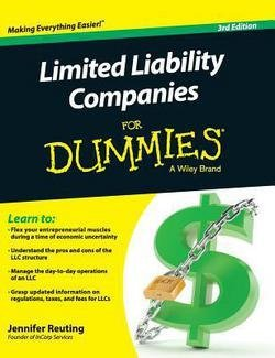 Jennifer Reuting: Limited Liability Companies for Dummies (Hardcover); 2015 Edition
