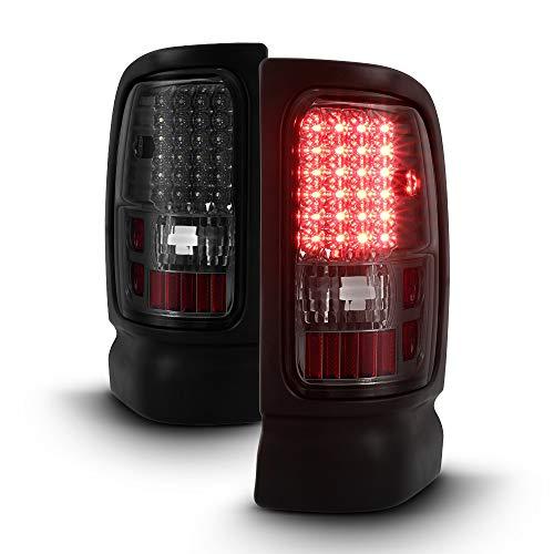 ACANII - For Smoke 1994-2001 Dodge Ram 1500 2500 3500 Pickup LED Tail Lights Lamps ()