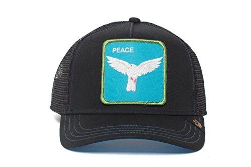 b6d050e789924d Goorin Bros. Animal Farm 'Peace Keeper' Dove Snapback Trucker Hat Black:  Amazon.com.au: Fashion