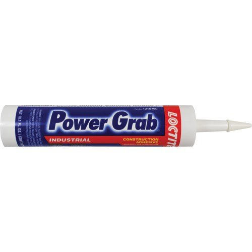 Loctite 1210760 Power Grab Construction Adhesive, 10.1 oz Cartridge, Off-White
