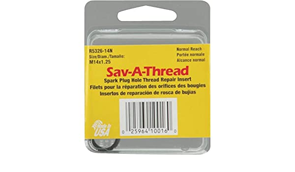 Amazon.com: Helicoil Nml Spark Plug Thread Insert R5326-14N: Arts, Crafts & Sewing