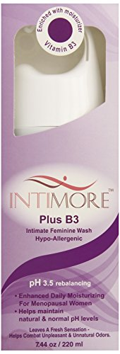 (Intimore Feminine Wash, For Menopausal Women, Vaginal Discomfort, 7.44-Ounce Bottle (Pack of)