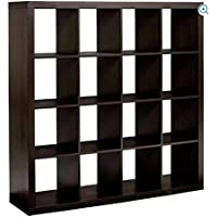 Better Homes and Gardens Cube Organizer, (16, Espresso)