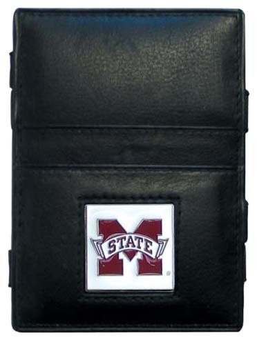 Siskiyou NCAA Mississippi State Bulldogs Leather Jacob