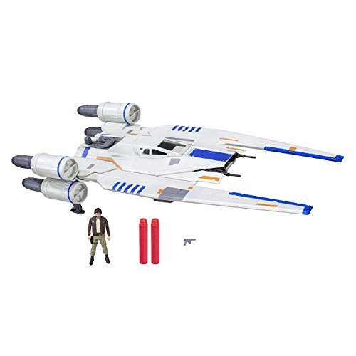 Star Wars – Nave de Batalla U-Wing Fighter Rogue One Rebel, Figura 9 cm (Hasbro B7101EU4)