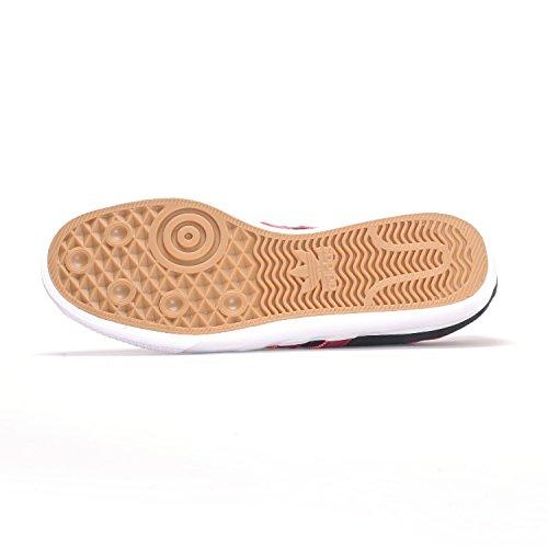 adidas Originals Herren Adi-Ease Premiere Fashion Sneaker Kern Schwarz / Collegiate Burgund / Weiß