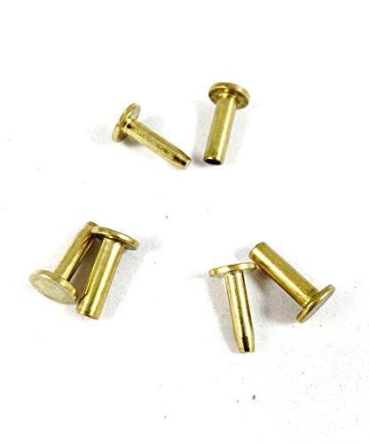 Rivet Brass Handle - SD Cutlers Cutlery Rivets 5/16