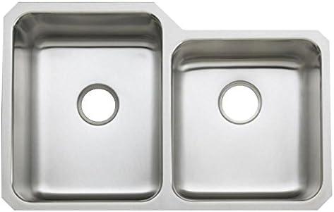 KOHLER K-3177-NA Undertone Large Medium Undercounter Kitchen Sink, Stainless Steel