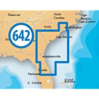 NAVIONICS Platinum+ 642 XL South Carolina-North Florida on SD card, MFG# MSD/642P+, coverage area includes Cape Fear to Melbourne. / NAV-MSD/642P+ /