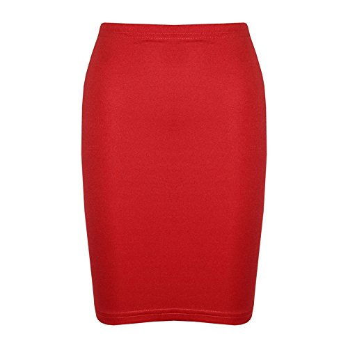 A2Z 4 Kids® Gilrs Skirt Kids Plain Color School Fashion Dance Pencil Skirts Age 7-13 Years